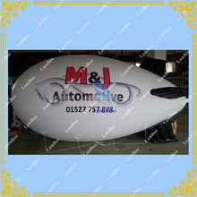 4m Long Inflatable Airship / Blimp / Zeppelin with your LOGO for Different Events / Digital printing