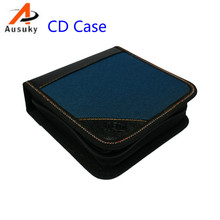 A Ausuky Portable 40 Disc Capacity DVD CD Case controller pencil  for Car Media Storage CD storage Bag -20