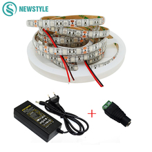 5M LED Plant Grow Light Flexible LED Strip 3:1 4:1 5:1 Red Blue LED Plant lamp Power Supply for Greenhouse Hydroponic