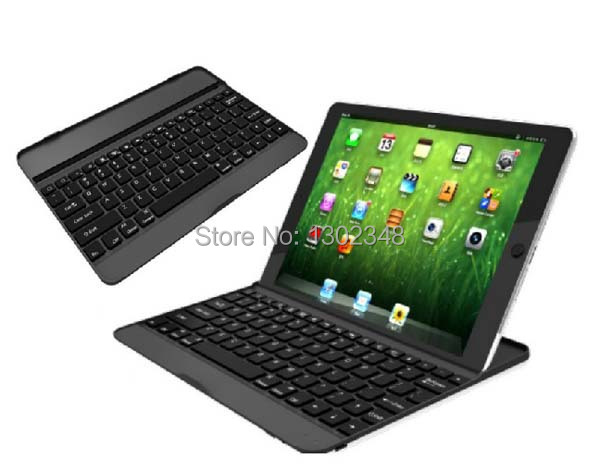 Russian &amp; Special Letter Ultra Slim Aluminium Metal Wireless Bluetooth Keyboard Cover Case For Apple ipad air ipad 5 9.7 Tablet<br><br>Aliexpress