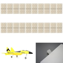 M89CHBB 20pcs Hinge Linker Plastic Large for RC Airplane Aircraft Helicopter Quadcopter New(China)