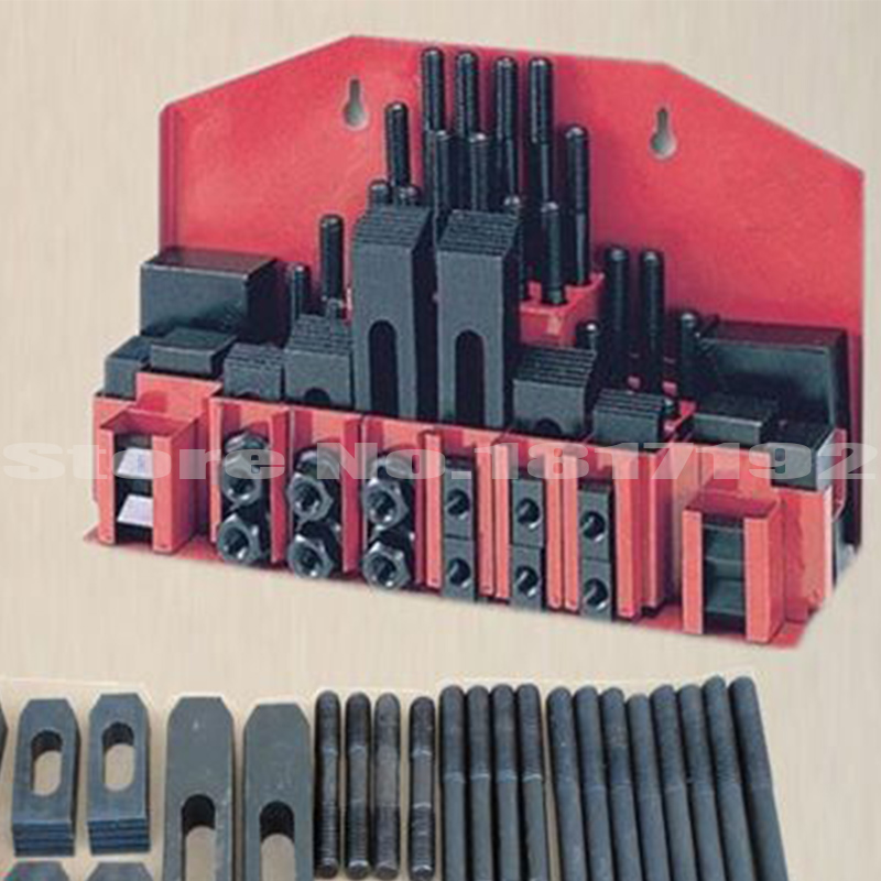 Steel quality Metex milling machine clamping set M10 58pcs mill clamp kit vice shipping by DHL 1SET, clamping tool<br><br>Aliexpress