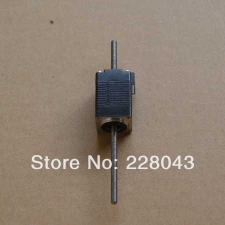 100mm Long Nema8 Non-captive Linear Stepper Motor with Tr3.5*0.61mm leadscrew<br>