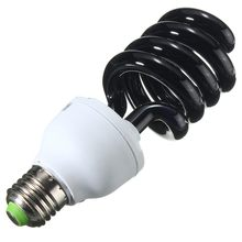 Top Quality E27 Spiral Energy Saving 15/20/30/40W UV Ultraviolet Fluorescent Black Light CFL Violet Light Bulb Lamp DC12V