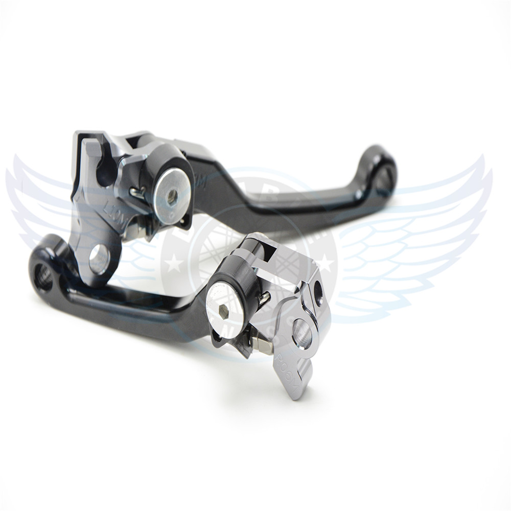 Motorcycle Accessories One Pair Top Quality CNC Pivot Brake Clutch Levers For Honda CRF230F 2003 2004 2005 2006 2007 2008 2009<br><br>Aliexpress