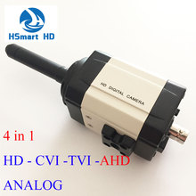 New 4in1 HD OSD 70mm lens Camera 45mm 2.0MP 1080P CCTV HD 35mm CVI AHD TVI Analog 25mm Mini Box Security Color Camera