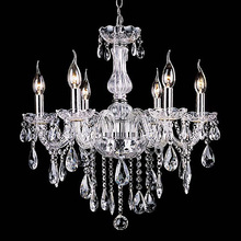 Noble Luxurious Export K9 Clear Crystal Chandelier 4/6/8/10/12/15/18 Arms Optional Lustres De Cristal Chandeliers Free Shipping