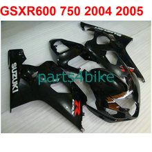 Moto gsxr 600 Fairing kit For Suzuki 750 2004 2005 04 05 ( decal&balck) fairings free Windscreen m25