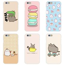 Soft TPU Silicon Capa Cover Funny Pusheen The Cat Gifs For Samsung Galaxy A3 A5 A7 J1 J2 J3 J5 J7 2015 2016 2017 S8 Plus
