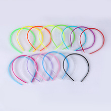 Korean Version Of The Popular Cute Children Diy Plastic WithTeeth Candy Color Head Hoop Headdress Headband Hair OrnamentsC001