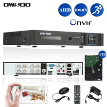OWSOO 1080N AHD 8CH DVR CCTV System With 1TB HDD Onvif Phone Control CCTV 8CH DVR Recorder For CCTV Security Surveillance System(China)