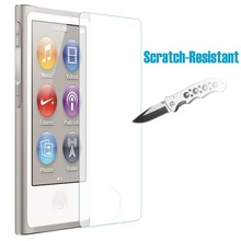 High Quality Ultra Thin 0.3mm 2.5D Tempered Glass Premium Screen Protector For Apple iPod Nano 7 nano7 Protective Film