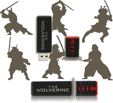 Pendrive 128G USB Flash Drive Memory Stick/thumb sword katana  flash Pendrive 4g 8g 16g 32g 64g external storage  U Disk