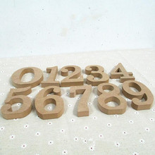 Home Decoration Wood Numbers Crafts DIY Wooden numbers Bridal Wedding Party Home Decoration Creative Furnishing Articles