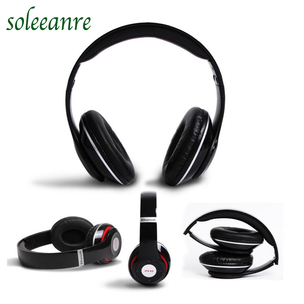 Bluetooth Headphone  Music Stereo Foldable Headset With Mic TF Card For Phone Computer MP3 <br><br>Aliexpress