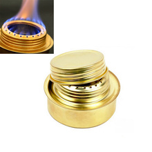 Mini Camping Stove Alcohol Stove Spirit Portable Copper Cooker Burners Ultra-light Spirit Stoves Outdoor Gas Stove Furnace B-9(China)