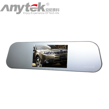 Anytek A80 Gesture Control  Ultra Thin Novatek 96655 Dual-lens Driving Recorder Light Night Vision Rear View Car DVR Came