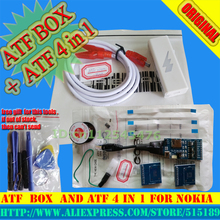 ATF Nitro box With Network Activation With Sl3 Network Activation For Nokia+ATF 4-in-1 JTAG / EMMC / ISP / MMC Card Adaptor(China)