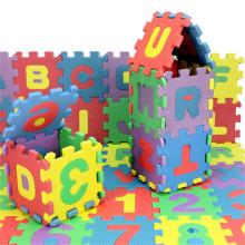 180PCS/LOT) Educational alphabet & digital learning EVA puzzle toy kid child girls boys baby toys puzzles EVA MAT promotion gift