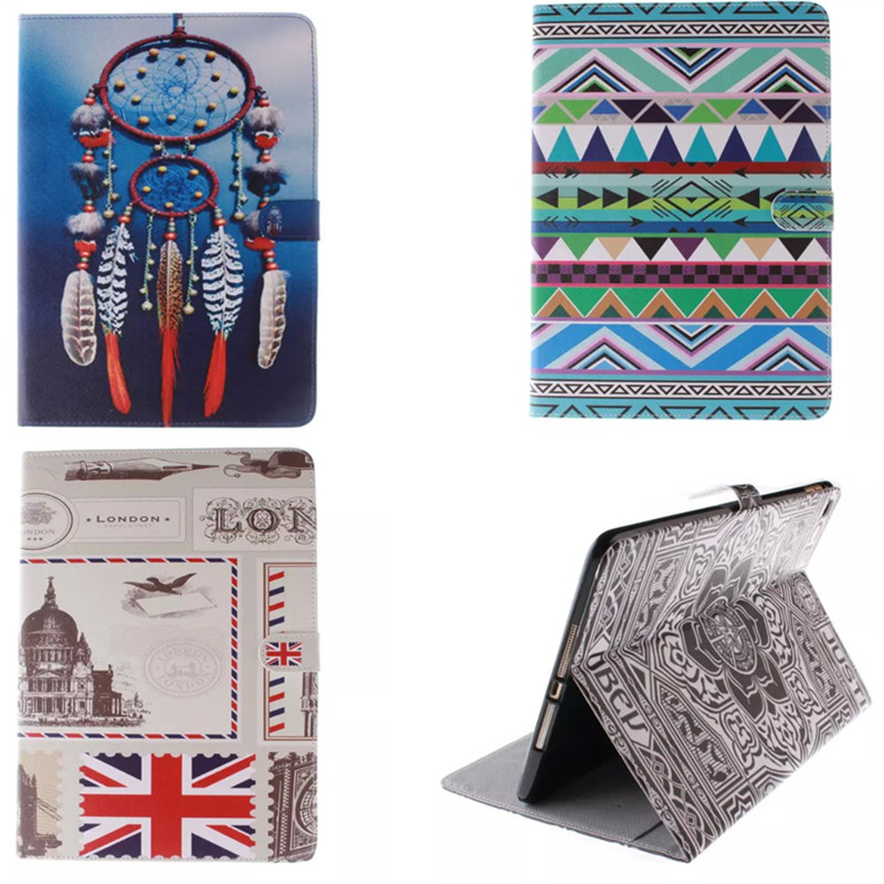 Wholesale TX Luxury Painting PU Leather Case For Apple iPad Air 2 Air2   Cover For iPad 6 Bag Fashion Designer Stand<br><br>Aliexpress