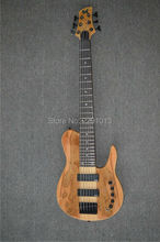 Top quality Bass guitar 6strings Best workmanship through maple neck Free shipping(China)
