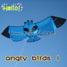 free shipping high quality easy flying bird kite flying with handle line outdoor toys octopus weifang kite hcxkite factory(China)