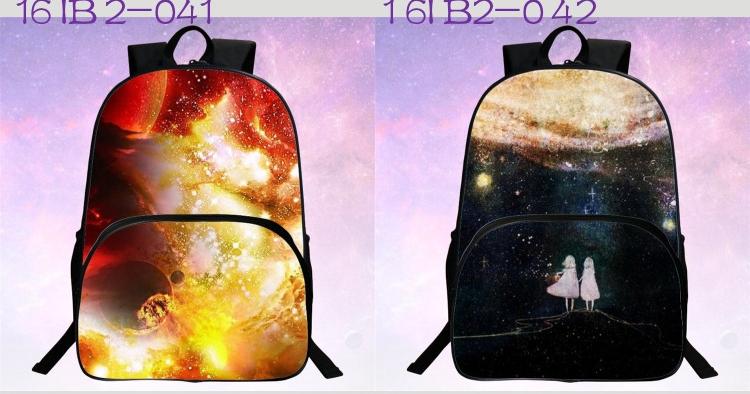 حقائب مدرسية / الكون / الفضاء/ 24 لوان للبنات 8