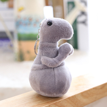 11cm Keychain Plush Toy Stuffed Animals Zhdun Meme Tubby Gray Blob Zhdun Snorp Pochekun Homunculus Loxodontus Zjhdun Doll(China)