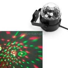 Voice Control US Plug LED Stage Strobe Light Operated DJ Disco Party Club Stroboscope Colorful Stage Light Effects YX# #L057#