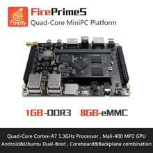FirePrimeS Quad Core Cortex A7 Processors Development Board , RK3128 , Support Ubuntu15.04 and Android5.1(China)
