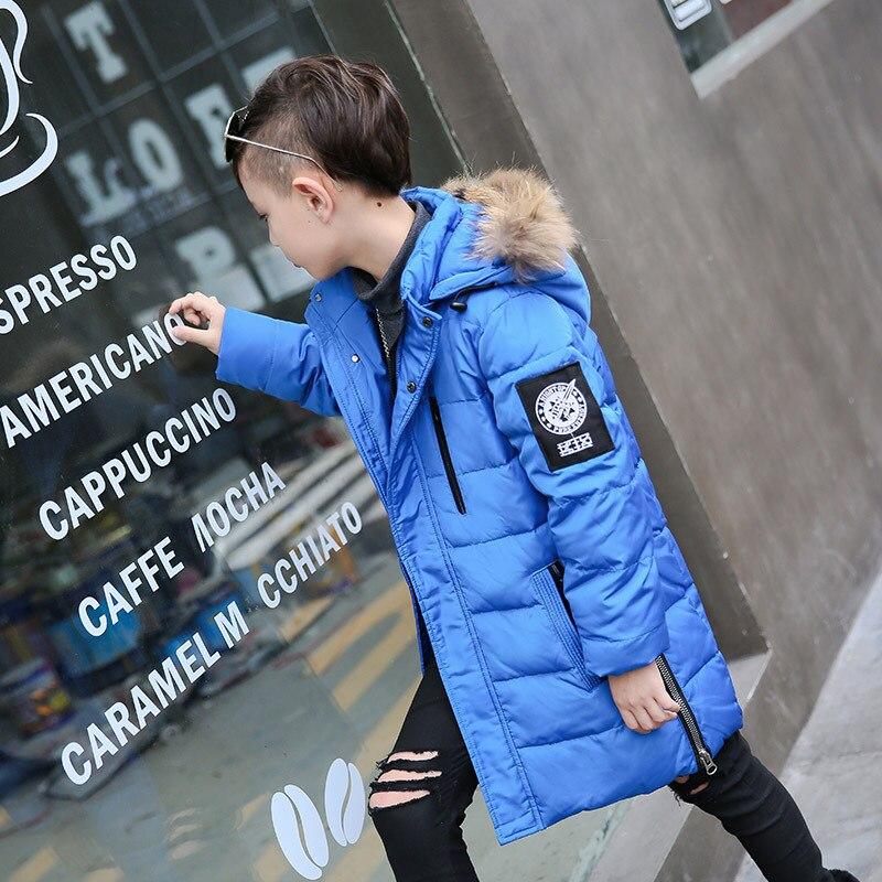2017 New Fashion Children Down Jacket  Child Thickened Boy Children Winter Coat  Boys Outerwear Winter Very Warm Jackets Coats<br>