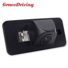 Promotion car reversing camera auto wire car reserve camera system hd ccd image sensor for Audi A3 A4 A6 A8 Q5 Q7 A6L(China)