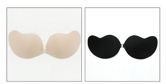 sexy Mango type ladies bra women summer Biological glue underwear bride wedding breast petals 17 new push up 7