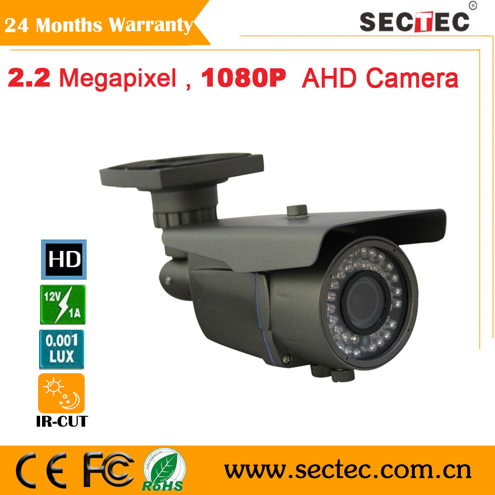 2.0Megapixel Full HD 1080P AHD Camera waterproof outdoor Camera day and night vision CCTV camera whole sale and retail<br><br>Aliexpress