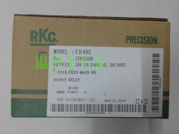 RKC thermostat CH402 full input intelligent PID temperature controller CH402 temperature controller  Ch402FK02-M*AN-nn<br>