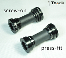 Taozik  original BB91/92 sealed bearing hollow fit press MTB road middle axis bicycle bottom bracket
