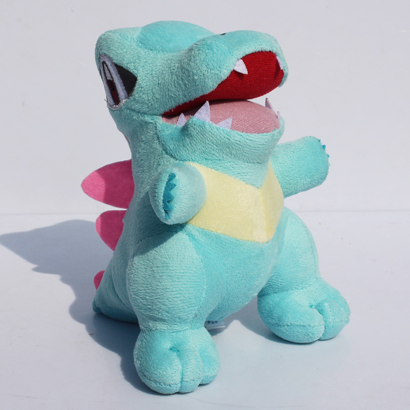 "Anime Totodile Plush Toy with Tag 7""18cm Stuffed Doll for Children Free Shipping(China (Mainland))"