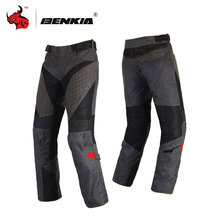 BENKIA Winter Motorcycle Rally Pants With Detachable Warm Liner Off Road Motocross Trousers Pantalon Moto Motorbike Pants
