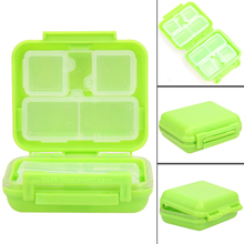 Portable 8 Cells Pocket Pill Medicine Box Storage Case Organizer Jewelry Box Pill Container High Quality