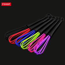 5pc Plastic Salon Hairdresser Dye Balloon Kitchen Gadgets Stirring Whisk Mixer Rotary Egg beater Kitchen Accessories