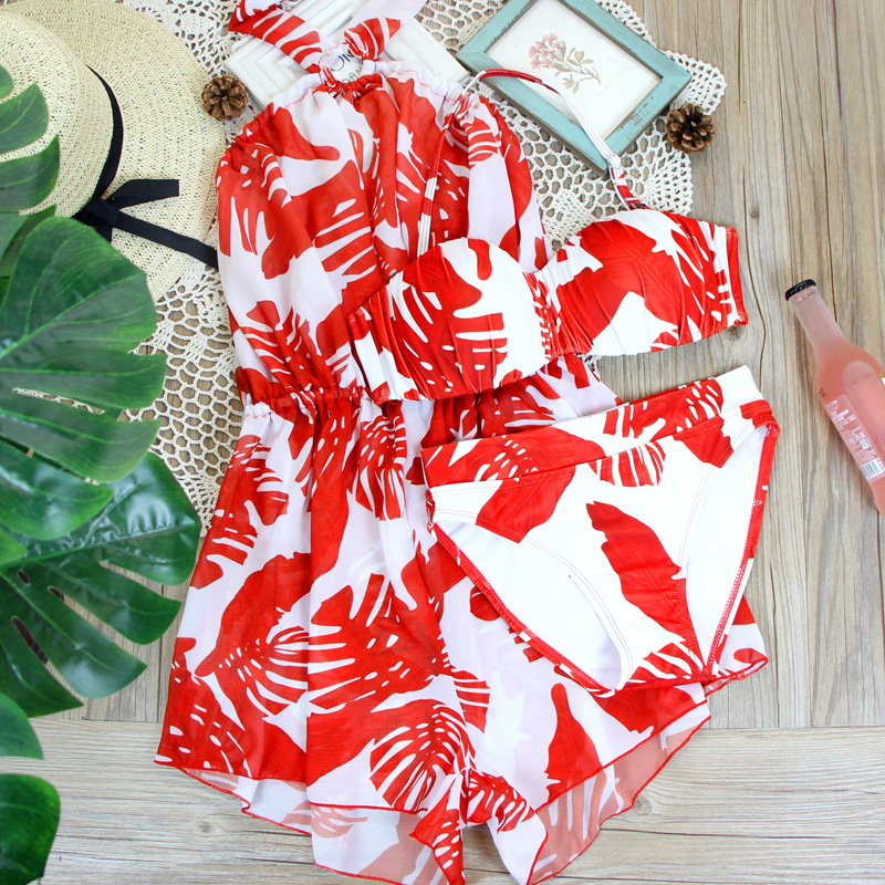 Staerk Panic buying bikini push up maillot femme red swimsuit badpak dames set nel swimwear female biquini <br>