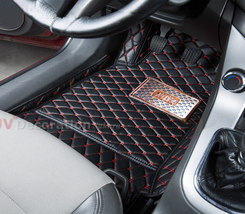 7 SEATS For Chevrolet Captiva 2012-2015 Car Floor Mats Accessories Foot Pad Covers<br><br>Aliexpress