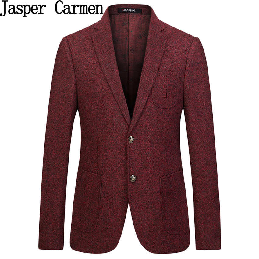 Free shipping New arrival Blazer men autumn 2017 Blazer Slim Office Suit Coat Fashion and casual Men's blazer jacket 158hfx(China (Mainland))