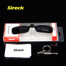 Buy Sireck Professional Anti-UV Polarized Clip Sunglasses Ultraight TR90 Sport Cycling Fishing Glasses Clips Driving Eyewear Lens for $6.99 in AliExpress store
