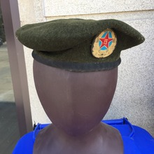 COMMUNIST Chinese military soldier beret Type 97 army hat boina verde ejercito CN/401255