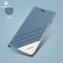 FLOVEME Case For iPhone 5 5S SE iPhone 8 Case Luxury Brand Flip Card Slot Leather Coque Phone Cover For iPhone X 7 6 6S Case(China)