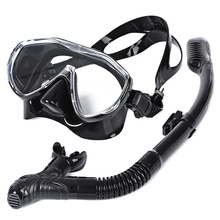 WHALE Safe Professional Scuba Diving Mask Silicone Mask Snorkel Durable Wear Resistant  Diving Masks Set Soft Comfortable Mask
