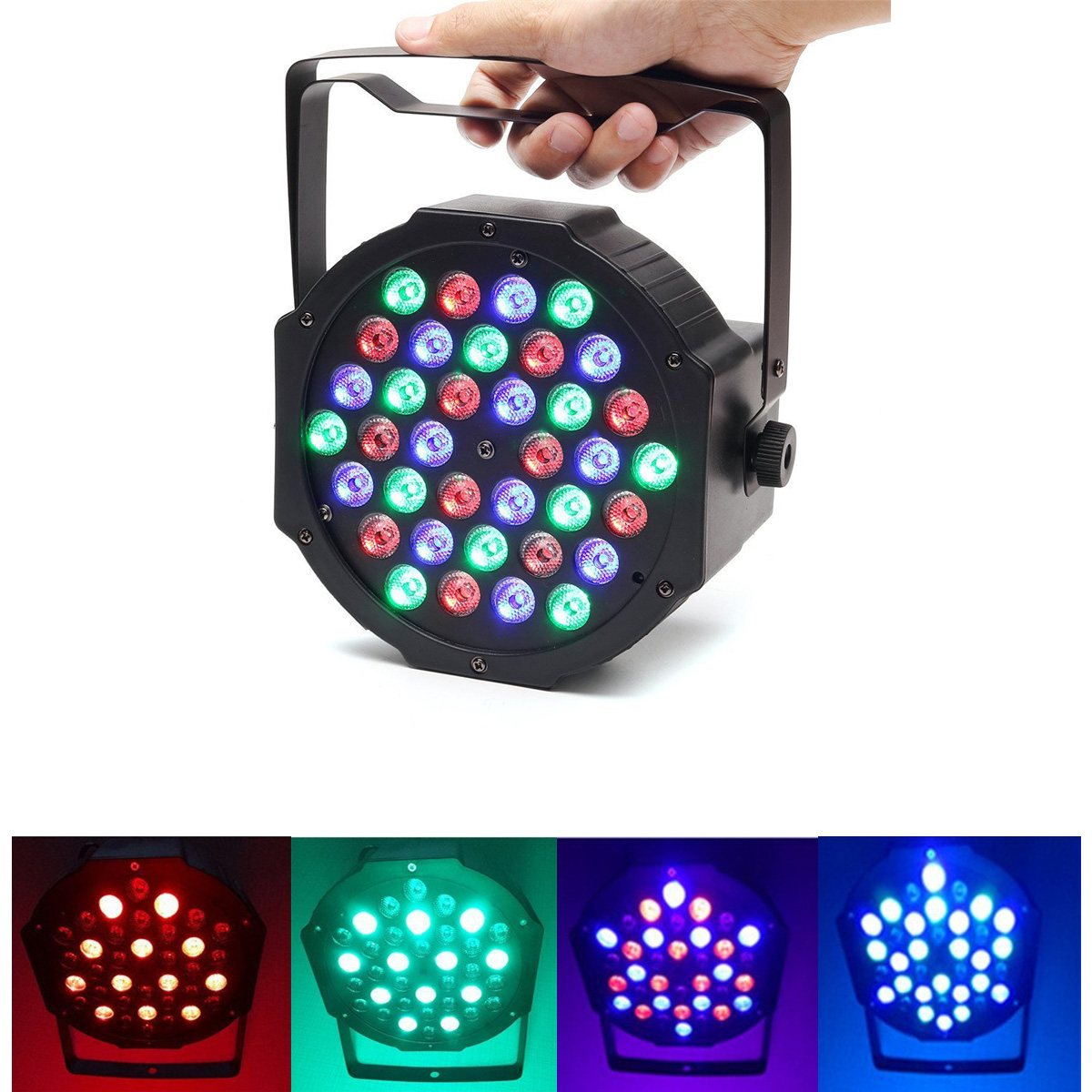 36 LED RGB Christmas Laser Projector DMX Stage Lamp Night Light Disco DJ Club Bar Wedding Party Decor<br>