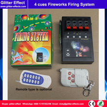 Remote control 4 channels Stage indoor fountain pyrotechnic Igniter Fireworks firing system machine