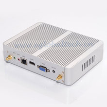 Eglobal Low Power 6W 14NM CPU N3150 Quad Core 4GB RAM 128GB SSD Fanless Mini PC Windows 10 HTPC Mini Desktop Computer Linux